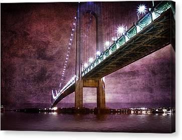 Verrazano-narrows Bridge03 Canvas Print by Svetlana Sewell