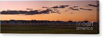 Very Large Array Panorama Canvas Print by Matt Tilghman