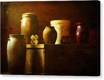 Vessels Canvas Print by Sue Henry