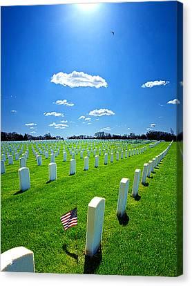 Veterans Canvas Print by Phil Koch