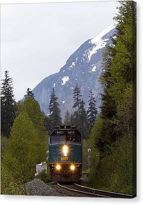 Via Rail Canada Canvas Print
