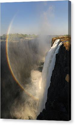Victoria Falls Canvas Print by Christian Heeb