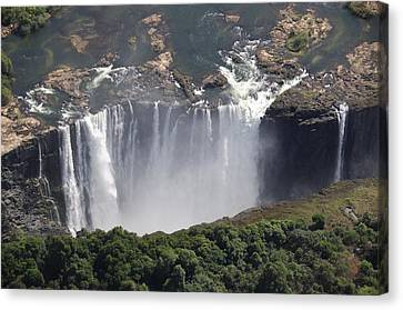 Victoria Falls II Canvas Print by Christian Heeb