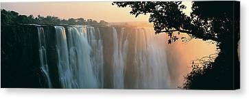 Victoria Falls, Zimbabwe, Africa Canvas Print by Jeremy Woodhouse