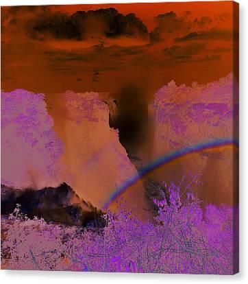 Victoria Falls, Zimbabwe Canvas Print by Robert Harding