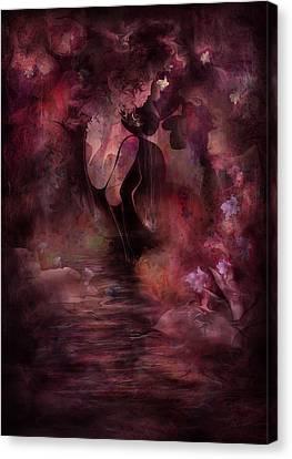 Victorian Dreams Canvas Print by Rachel Christine Nowicki