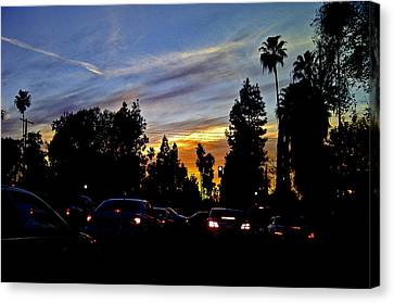 Victory Blvd 4 Canvas Print by Russell Jenkins