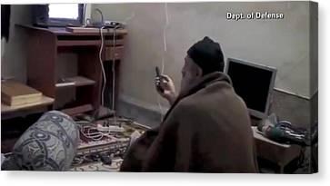 Video Still Of Al Qaedo Terrorist Canvas Print by Everett