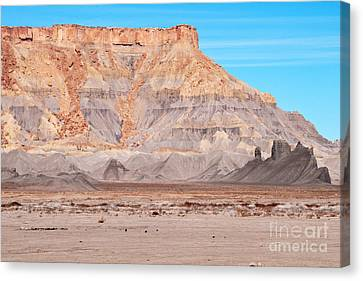Canvas Print featuring the photograph View Along Rt 12 In Utah by Bob and Nancy Kendrick