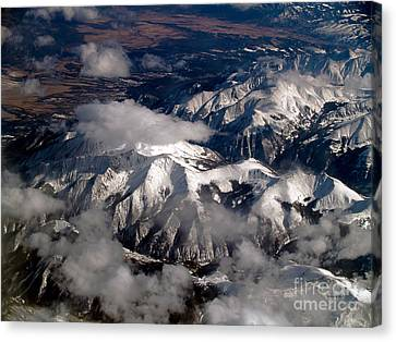Terra Firma Canvas Print - View From Above IIi by Patricia Griffin Brett