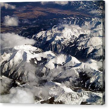 Terra Firma Canvas Print - View From Above Iv by Patricia Griffin Brett