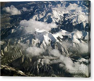 Terra Firma Canvas Print - View From Above by Patricia Griffin Brett