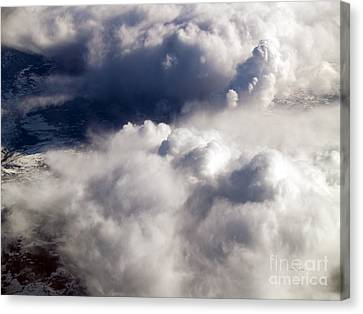 Terra Firma Canvas Print - View From Above V by Patricia Griffin Brett