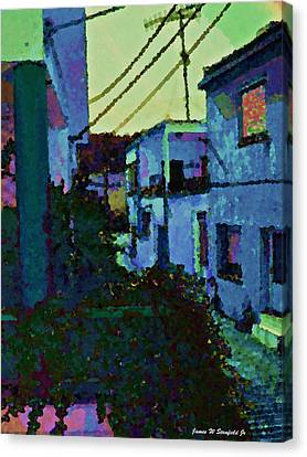 View From Kitchen Window --41 Canvas Print