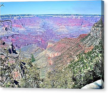 View From The South Rim Canvas Print