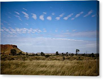 Canvas Print featuring the photograph View Into Distance by Carole Hinding