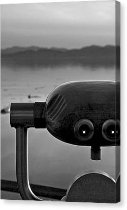 View Canvas Print by Mike Horvath