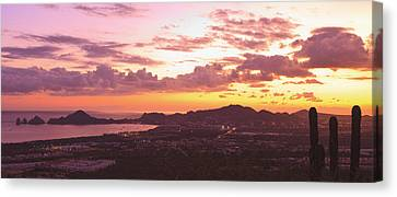 View Of Cabo San Lucas And Tip Of Baja Canvas Print by Stuart Westmorland