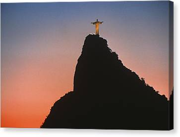 View Of Christ The Redeemer  Canvas Print by Anonymous