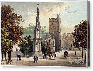 View Of Oxford, C1885 Canvas Print by Granger