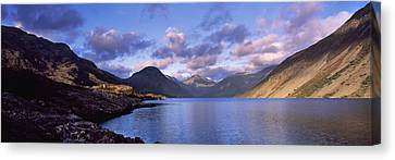View Of Wastewater, Located In The Lake Canvas Print by Axiom Photographic