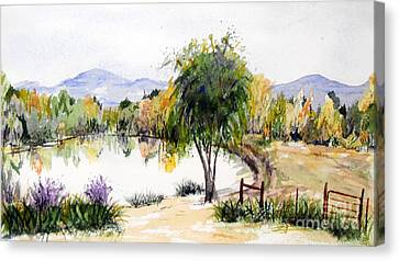 View Outside Reno Canvas Print by Vicki  Housel