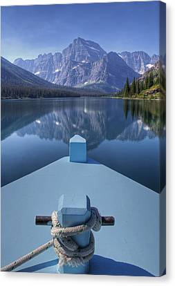 Views From The Bow Canvas Print by Darlene Bushue