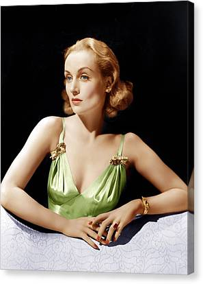 Vigil In The Night, Carole Lombard, 1940 Canvas Print by Everett