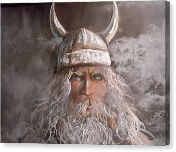 Viking God Canvas Print