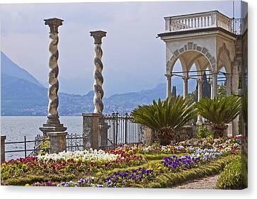 Villa Monastero - Varenna - Lago Di Como Canvas Print by Joana Kruse