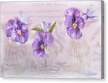 Ville De Paris Canvas Print by Sandra Rossouw