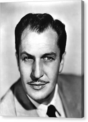 Vincent Price, Ca 1950s Canvas Print by Everett