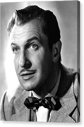 Vincent Price, Warner Brothers, 1953 Canvas Print by Everett