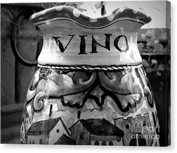 Vino Canvas Print by Tanya  Searcy