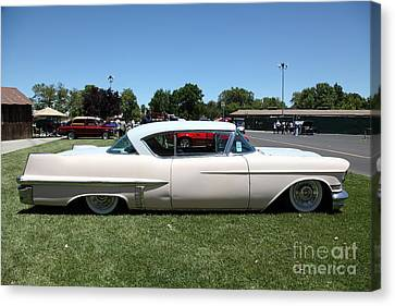 Vintage 1957 Cadillac . 5d16686 Canvas Print by Wingsdomain Art and Photography