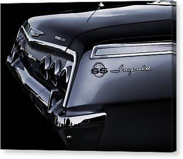 Vintage '62 Impala Ss Canvas Print by Douglas Pittman