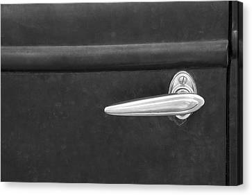 Vintage Car Door Handle Canvas Print