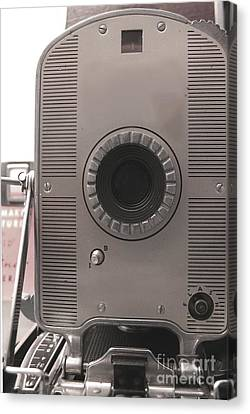 Vintage Instant Camera Canvas Print by Yali Shi
