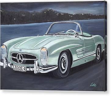 Vintage Mercedes Canvas Print