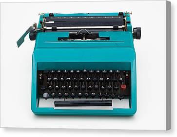 Vintage Typewritter Canvas Print
