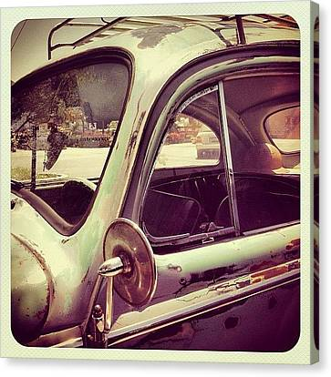 Classic Canvas Print - Vintage Vw by Gwyn Newcombe