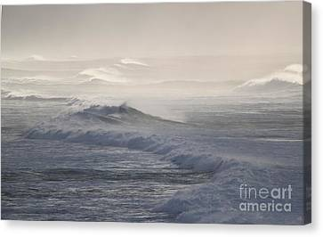 Violent Surf Canvas Print