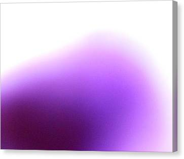 Canvas Print featuring the photograph Violet by Alexandra Masson