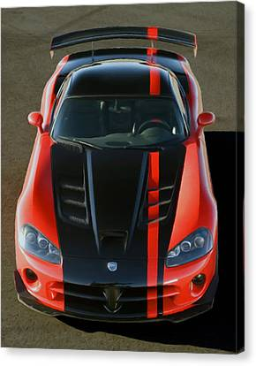 Viper Acr Canvas Print by Rodney Mann