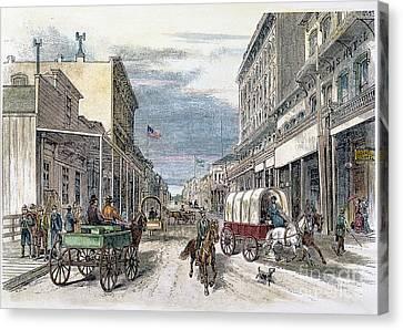 Virginia City, Nevada Canvas Print