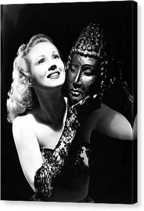 Virginia Mayo, Ca. Early 1940s Canvas Print by Everett