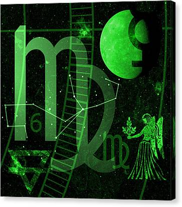 Virgo Canvas Print by JP Rhea