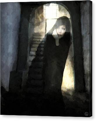 Visitor From Long Ago Canvas Print