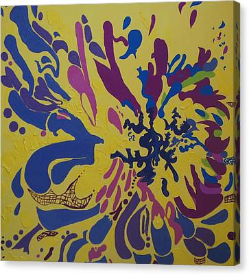 Vitality Nine Canvas Print by Amanacer Originals