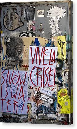 Vive La Crise Canvas Print by RicardMN Photography